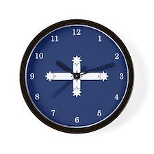 Eureka Flag of Australia Wall Clock