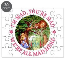 We're All Mad Here Puzzle