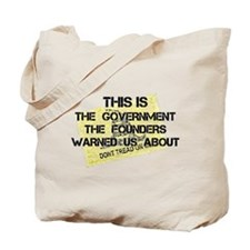 Country Founding Fathers Warned Us About Tote Bag