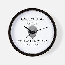 ASTRAY BLACK.png Wall Clock