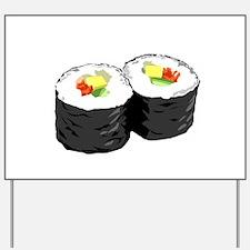 Sushi Yard Sign