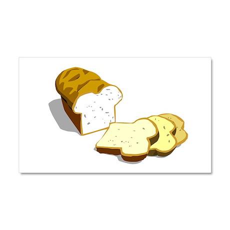 Bread loaf Car Magnet 20 x 12