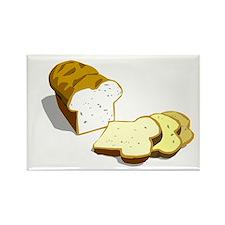 Bread loaf Rectangle Magnet