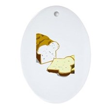 Bread loaf Ornament (Oval)