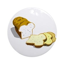 Bread loaf Ornament (Round)