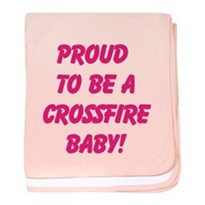 Proud Crossfire Baby blanket