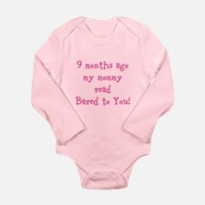 My Mommy Read Long Sleeve Infant Bodysuit