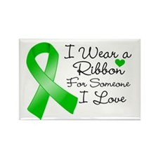 Ribbon Someone I Love Rectangle Magnet