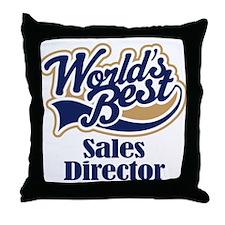 Sales Director (Worlds Best) Throw Pillow