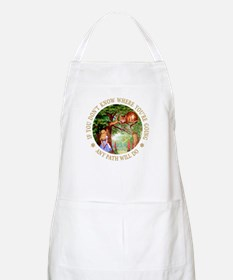 Any Path Will Do Apron