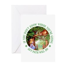 Any Path Will Do Greeting Card