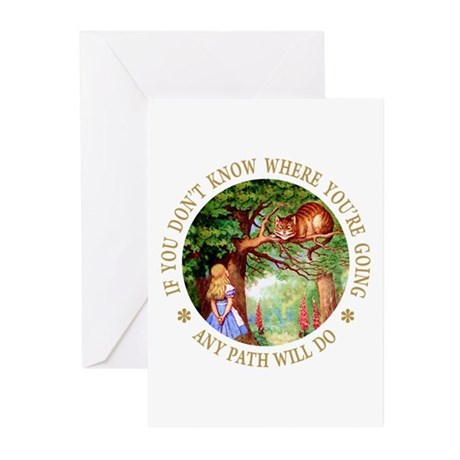 Any Path Will Do Greeting Cards (Pk of 10)