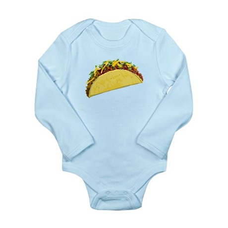 Taco Long Sleeve Infant Bodysuit
