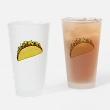 Taco Drinking Glass