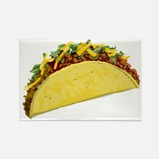 Taco Rectangle Magnet