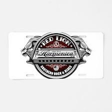 Red Lion Harmonica II Aluminum License Plate