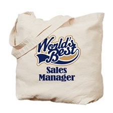 Sales Manager (Worlds Best) Tote Bag