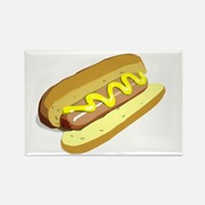 hotdog.png Rectangle Magnet