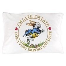 I'm Late, I'm Late! Pillow Case