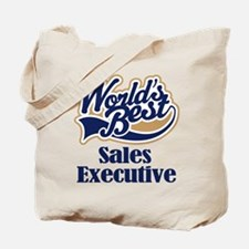 Sales Executive (Worlds Best) Tote Bag
