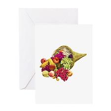 Cornucopia Greeting Card