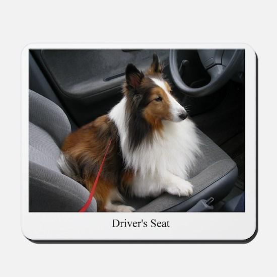 Drivers Seat Mousepad