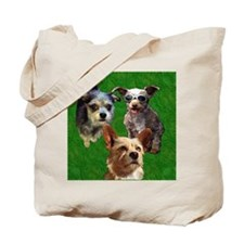 Buster Lucky Chewie Square Tote Bag