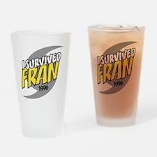 I Survived FRAN Drinking Glass