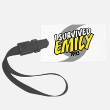 I Survived EMILY Luggage Tag