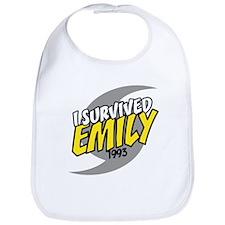 I Survived EMILY Bib