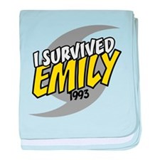 I Survived EMILY baby blanket
