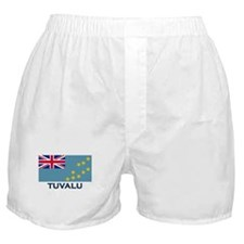 Tuvalu Flag Gear Boxer Shorts