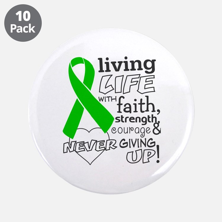 """BMT SCT Living Life 3.5"""" Button (10 pack)"""
