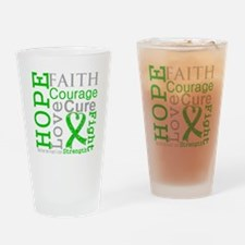 BMT SCT Hope Faith Courage Drinking Glass