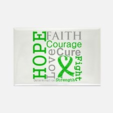 BMT SCT Hope Faith Courage Rectangle Magnet