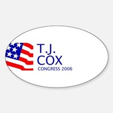 Cox 06 Oval Decal