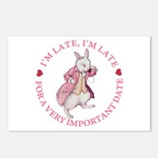 I'm Late, I'm Late! Postcards (Package of 8)