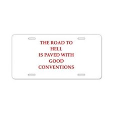 24.png Aluminum License Plate
