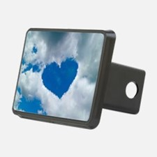 Heart-shaped cloud formation - Hitch Cover