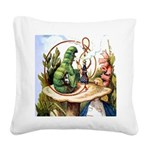 ALICE_8_SQ.png Square Canvas Pillow
