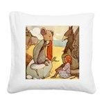 Alice in Wonderland014 SQ.png Square Canvas Pillow