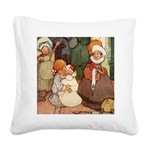 Alice in Wonderland010 SQ.png Square Canvas Pillow