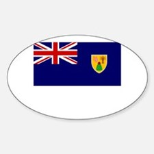 The Turks & Caicos Islands Flag Picture Decal
