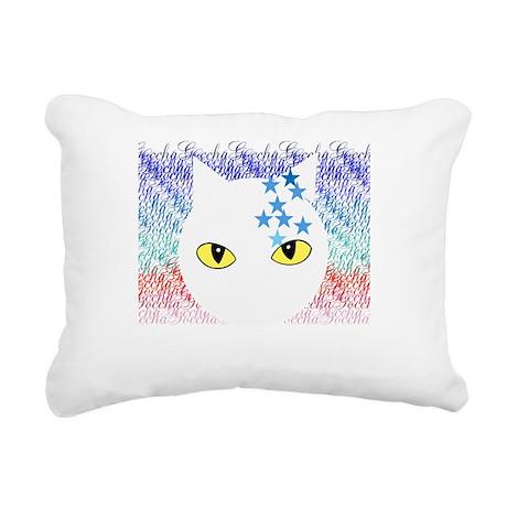 Cat Rectangular Canvas Pillow