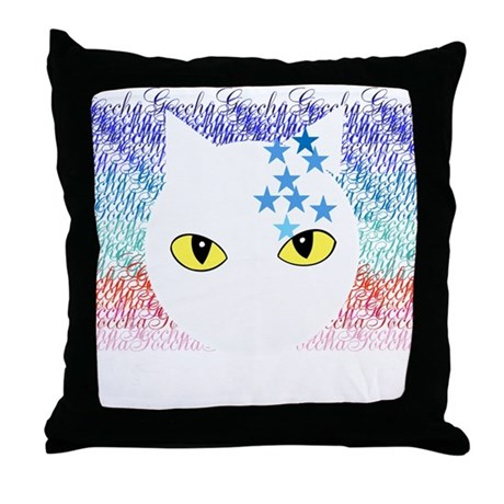 Cat Throw Pillow
