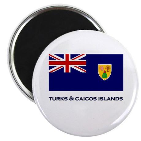 The Turks & Caicos Islands Flag Gear Magnet