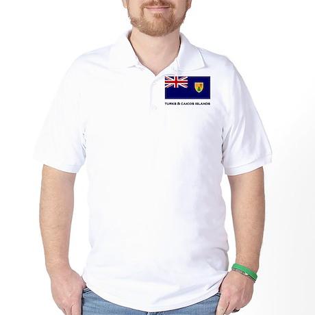 The Turks & Caicos Islands Flag Gear Golf Shirt
