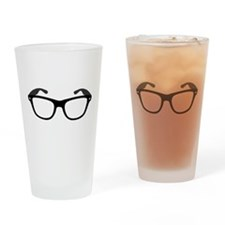 Geeky / Nerdy Glasses Drinking Glass