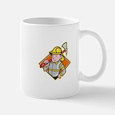 Fireman Firefighter Emergency Worker Mug