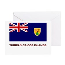 The Turks & Caicos Islands Flag Merchandise Greeti